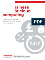 Claranet_WP_Business Case for Cloud Computing