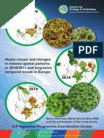 ICP Vegetation 2010/2012