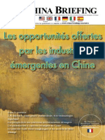 Les Opportunites Offertes par les Industries emergentes en Chine