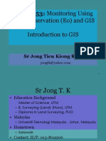 JSM 6053 - Chapter 1 - Principle of GIS v 1.0-LV