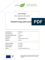 Standard Energy Audit Procedure -Greenhospital