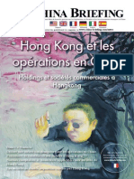Hong Kong et Les operations en Chine