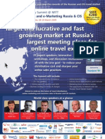 EyeforTravel - Travel Industry Summit - Distribution and e-Marketing Russia & CIS