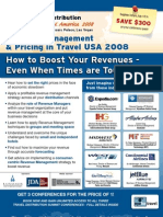 EyeforTravel - Revenue Management & Pricing in Travel USA 2008