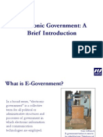 E-Government an Introduction