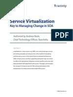 Service Visrtualization