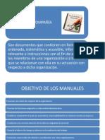 PRESENTACION MANUALES DE COMPAÑIAS