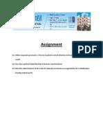 Assignment c 2