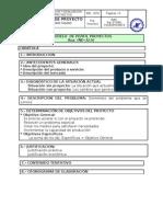 Perfil de Proyectos (Modelo)