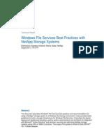 Windows File Services Best Practices