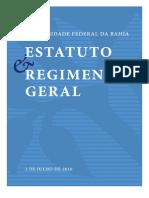 Estatuto & Regimento Geral - Ufba