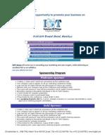 Iot Sponsorship Program