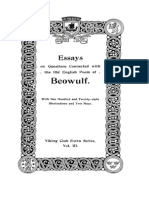 Knut Stjerna - Essays on Questions Connected With the Old English Poem of Beowulf