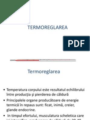 reglarea temperaturii pierderii în greutate pierderea în greutate tiroxină publică