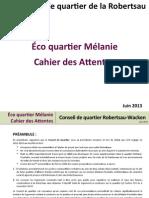EAQ Melanie Cahier AttentesVersionUltime
