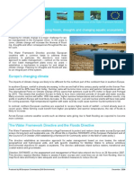 Water Note 10 of the EU Water Framework Directive