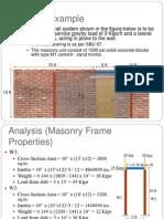 k Seismic Building Code of Pakistan (Masonry Example)