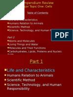 Compendium Review Cells Part 1