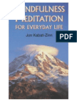 97291641 Mindfulness Meditation for Everyday Life Kabat Zinn Jon