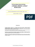 086_inem  monteria   plan de mejoramiento 2009 -2011
