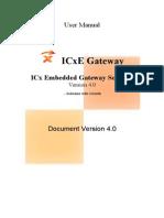 ICxE User Manual 4.0 Gghk