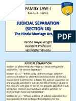 Judicial Separation