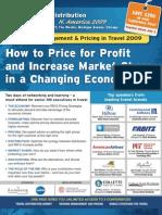 EyeforTravel - Travel Distribution Summit - Revenue Management & Pricing 2009