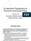 Lecture 16 Economic Stability and Growth