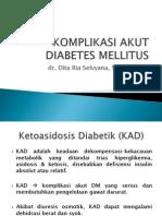 Komplikasi Akut Diabetes Mellitus