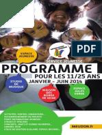 Programme jeunesse