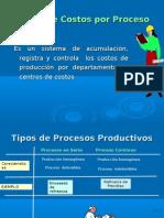 Sistema de Costos Por Proceso