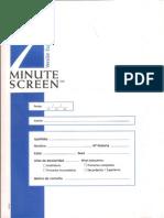 Hoja Recogida Datos 7 Minutos Screen