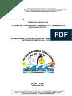 120_documento base estructura pedagogica y administrativa area de emprendimiento empresarial turistico
