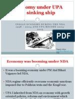 Economy Under UPA a Sinking Ship- Nagesh Jadhav