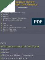 Compendium Review Genetics Part 1