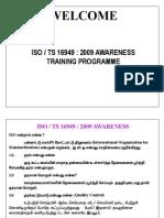 Iso Ts 16949 Tamil Training Program