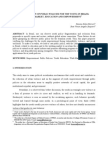 The Dimension of Public Policies for the Young in Brazil