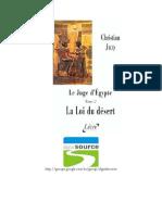 Christian Jacq - Juiz Do Egito - Volume II - A Lei Do Deserto