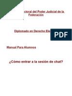 Manual Para Alumnos Sesion de Chat