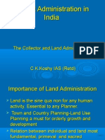 District Administration in India Edited