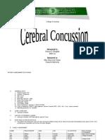 Cerebral Concussion(Final!)