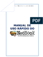 Manual de uso rápido do NeoBook 5