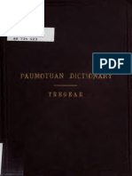Dictionary of Paumotuan