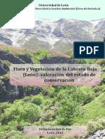 Flora y vegetación de la cabrera