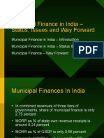2 Status & Issues - Municipal Finance- For CEPT Students