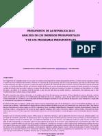 Analisis+Del+Presupuesto+Ingresos++y+Programas+Presupuestales+2013