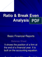 Ratio Break Even Analysis