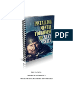 Installing Mental Toughness of Navy SEALs