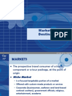 Markets and Destinations