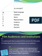 Intro to Section B - Audiences and Institutions